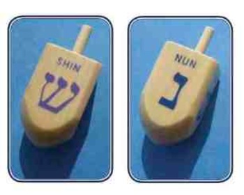 Dreidel (Dreydl) Hanukkah Song and Game Activity