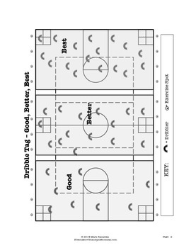 Dribble Tag - Large Group PE Activity