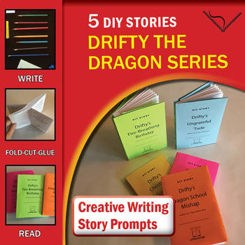 5 DIY Stories — Drifty the Dragon Series — Creative Writing Story Prompts