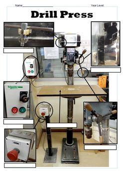 Drill Press Worksheet