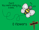 Drill and Practice Games and Activities for Speech Therapy: Flower Theme