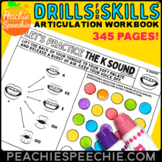 Drills for Skills Articulation Worksheets for Speech Therapy