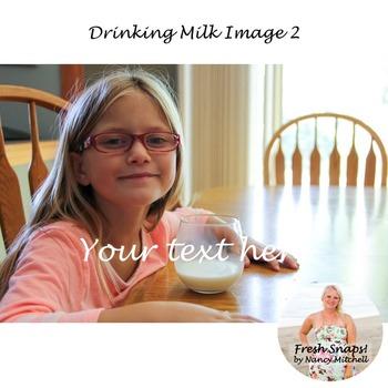 Drinking Milk Image 2