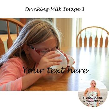 Drinking Milk Image 3