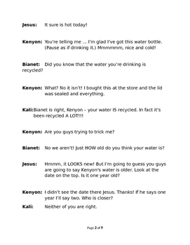Drinking Recycled Water - A.K.A. The Water Cycle