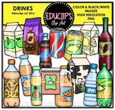 Drinks Clip Art Bundle {Educlips Clipart}