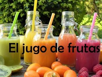 Drinks (Las bebidas) Power Point in Spanish (26 slides)