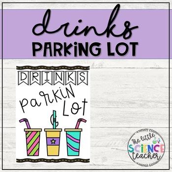 Drinks Parking Lot sign
