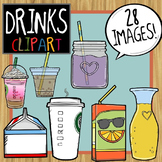 Drinks and Beverage Clip Art