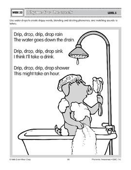 Drip, Drop (Letter-Sound Association)