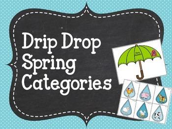 Drip Drop Spring Categories