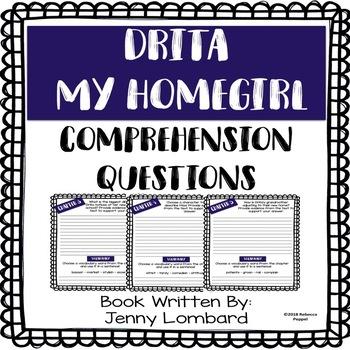 Drita My Homegirl - Comprehension Questions