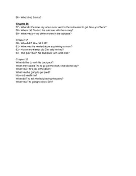Drive - By Book Questions and Answers (Lynne Ewing)
