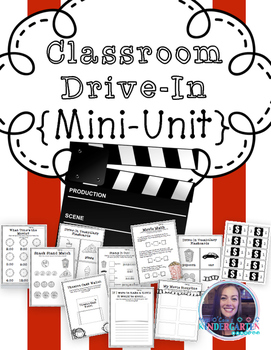 Drive-In Themed Math and Literacy Mini-Unit
