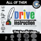 Drive Instruction - All of It - Bundle Warmups / Slides / Notes / Tests+++