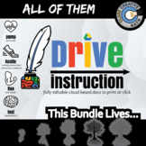 Drive Instruction - All of It - Bundle Warmups / Slides / Notes / Tests+++