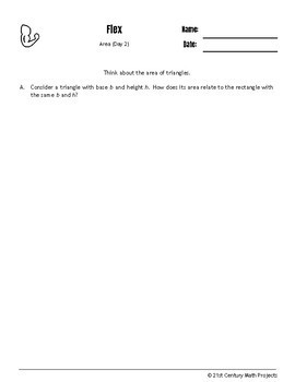 Drive Instruction - Area - EDITABLE Warm-Ups & Exit Tickets