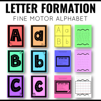 Drive On! Letter Formation Practice