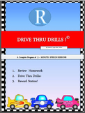 Drive Thru Drills - R - Complete Program of 5-Minute Speech Sessions