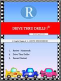 Drive Thru Drills - R - Complete Program of 5-Minute Speec
