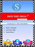 Drive Thru Drills - S - Complete Program of 5-Minute Speec