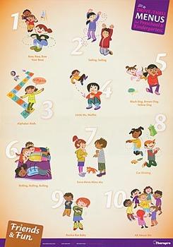 Drive Thru Menus Preschool & Kindergarten Card Deck