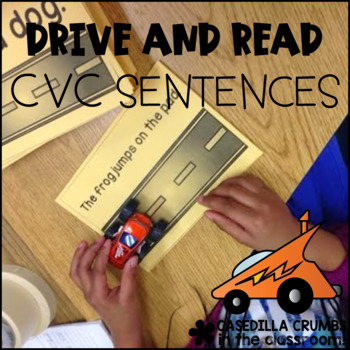 Drive and Read CVC Sentences and Sight Words