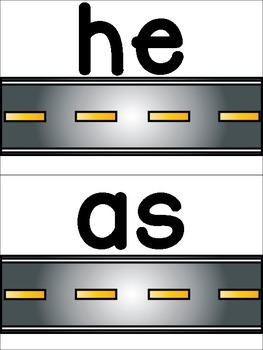 Drive and Read Sight Words