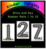 Drive and Say Number Mats 1 to 10