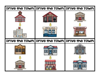 Drive the Town Multi-Step Directions