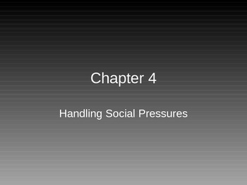 Driver Education PowerPoint **Handling Social Pressures**