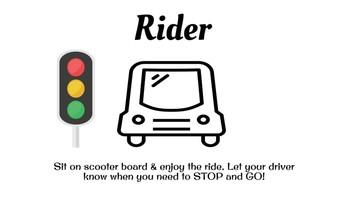 Driver, Rider, Spotter Team Scavenger Hunt Social Lesson