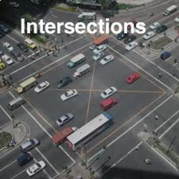 Driver's Education Ch. 10  Negotiating Intersections Bundle