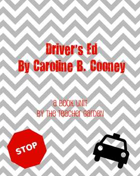 Driver's Ed (Caroline Cooney) Questions + Vocab + Follow-up Activity