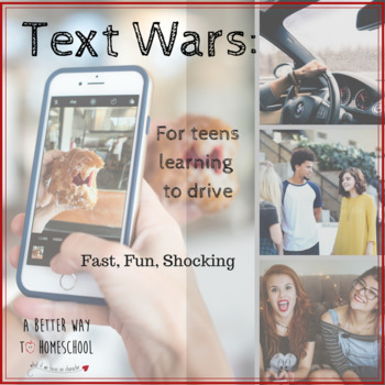 Drivers Ed: TEXT WARS GAME