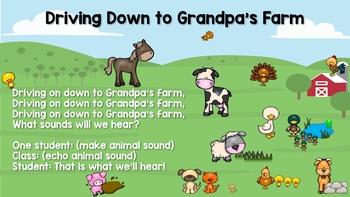 Driving Down to Grandpa's Farm