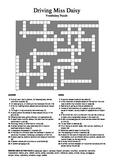 Driving Miss Daisy - Vocabulary Crossword