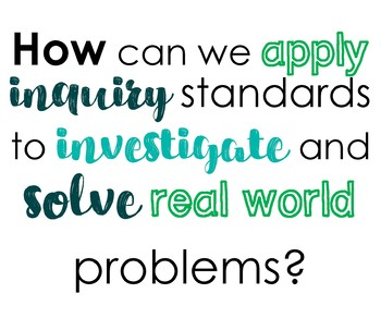 Driving Questions for Middle-Level ELA Classrooms - Posters - STEM ELA