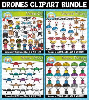 Drones Clipart Mega Bundle {Zip-A-Dee-Doo-Dah Designs}