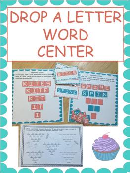 Drop a Letter Word Center