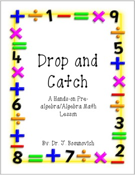 Drop and Catch: A Hands-On Math Lesson for Grades 6-8