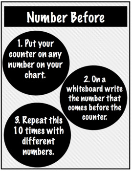 Number counting 1-150