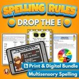 Drop the E Spelling Rule Bundle