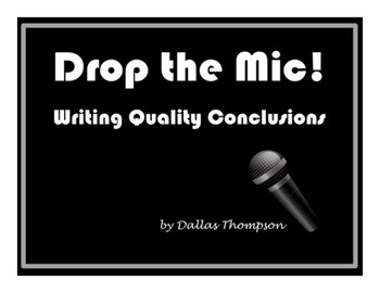 Drop the Mic! Quality Conclusions