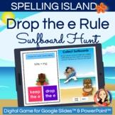Drop the Silent e Spelling Rule Digital Hunt Game