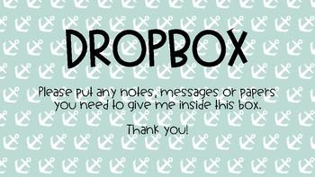 Dropbox Sign - Nautical Themed