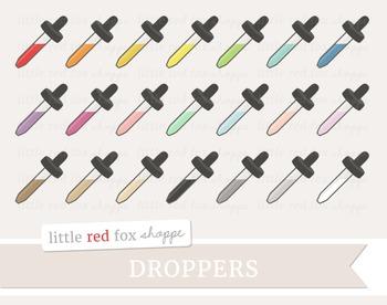 Dropper Clipart; Medical, Medicine, Doctor, Nurse