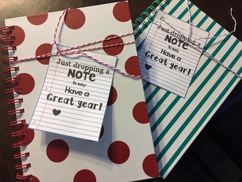 Dropping a Note {Teacher Gift}
