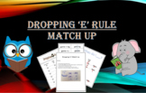 Dropping the 'e': Match Up