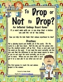 Dropping the -e Before adding -ed or -ing: To Drop or Not to Drop?